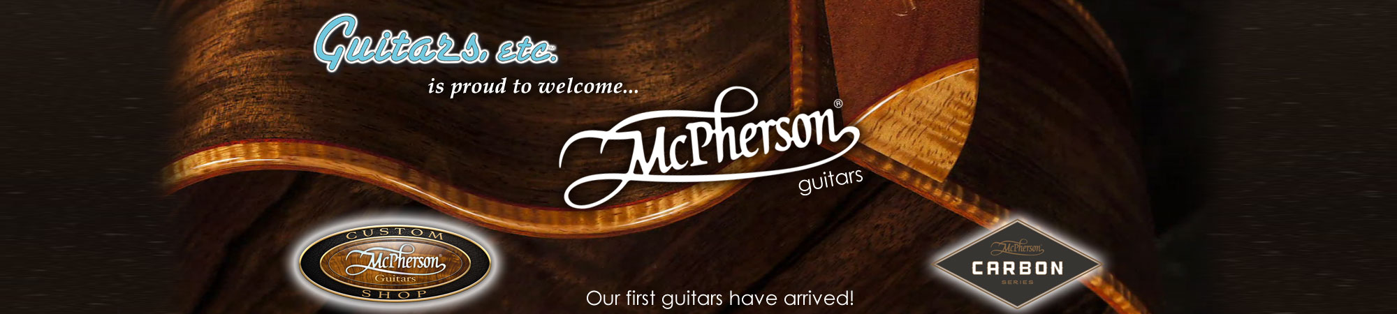 McPherson guitars are coming soon!